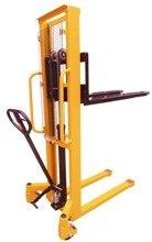 DOSTAWA GRATIS! 44366804 Paleciak, wózek paletowy masztowy (udźwig: 1000 kg, wysokość podnoszenia: 1500mm)