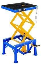 DOSTAWA GRATIS! 45674754 Podnośnik motocyklowy (udźwig: 135 kg, wymiary platformy: 410-350 mm, wysokość podnoszenia: 350-870 mm)