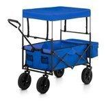 DOSTAWA GRATIS! 45675954 Wózek ogrodowy składany Uniprodo - 100 kg - niebieski