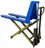DOSTAWA GRATIS! 62666833 Wózek paletowy nożycowy ręczny (udźwig: 1000kg, zakres podnoszenia: 90-800mm)