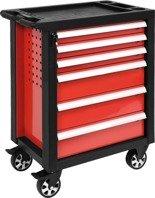 DOSTAWA GRATIS! 65669915 Wózek, szafka serwisowa, 6 szuflad (wymiary: 97,5x76,5x46,5 cm)