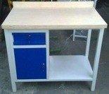 DOSTAWA GRATIS! 77156941 Stół warsztatowy, 1 szuflada, 1 szafka (wymiary: 1000x600x900 mm)