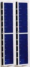DOSTAWA GRATIS! 77157127 Szafa skrytkowa, 20 drzwi (wymiary: 2000x470x220 mm)