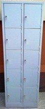 DOSTAWA GRATIS! 77157131 Szafa skrytkowa, 10 drzwi (wymiary: 1800x600x500 mm)