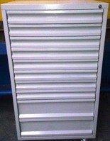 DOSTAWA GRATIS! 77157246 Szafa narzędziowa, 10 szuflad (wymiary: 1250x600x600 mm)