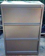 DOSTAWA GRATIS! 77157267 Szafa narzędziowa, 3 szuflady (wymiary: 1000x800x500 mm)