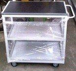 DOSTAWA GRATIS! 77157336 Wózek montażowy, 3 platformy (wymiary: 1000x500x900 mm)