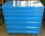 DOSTAWA GRATIS! 77157360 Wózek narzędziowy, 6 szuflad (wymiary: 1000x1000x600 mm)