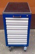 DOSTAWA GRATIS! 77157362 Wózek narzędziowy, 6 szuflad (wymiary: 740x400x500 mm)