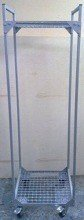 DOSTAWA GRATIS! 77157395 Wózek z półkami ażurowymi (wymiary: 1700x500x480 mm)