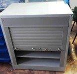 DOSTAWA GRATIS! 77170785 Szafa narzędziowa z żaluzją, 2 półki (wymiary: 920x800x500 mm)