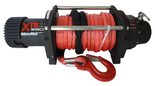DOSTAWA GRATIS! 81874129 Wyciągarka XTR 13500lbs [6130kg] SPEED z liną syntetyczną szarą 12V (średnica liny: 10mm, długość liny: 25m)