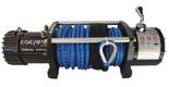 DOSTAWA GRATIS! 81874392 Wyciągarka 12000lbs 12,0X [5443kg] z liną syntetyczną 24V (średnica liny: 9,5mm, długość liny: 26m)