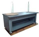 DOSTAWA GRATIS! 91073669 Stół na kółkach z dwoma kołami obrotowym (blat: 170x78 cm, wys: 78 cm)