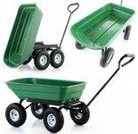 DOSTAWA GRATIS! 99673983 Taczka wózek ogrodowy transportowy wywrotka (udźwig: 350 kg)