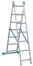 Drabina 2-elementowa aluminiowa Drabex 2x7 (wysokość robocza: 4,59m) 99674738