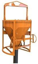 HIST Pojemnik do betonu z wylewem prostym + rekaw 2 metry + obejma (pojemność: 0,50 m3) 25277174
