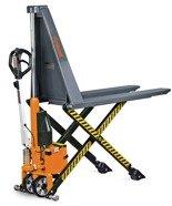 Kombinowany nożycowy wózek paletowy elektrohydrauliczny Unicraft (udźwig: 1000 kg, długość wideł: 1170mm, wysokość podnoszenia: 800mm) 32269535