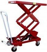 LIFERAIDA Wózek platformowy nożycowy (udźwig: 500 kg, wymiary platformy: 1010x520 mm, wysokość podnoszenia min/max: 440-1575 mm) 0301626