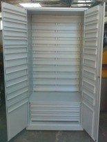 Szafa narzędziowa na pojemniki, 4 szuflady, bez pojemników (wymiary: 2000x900x500 mm) 77157257