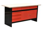 TOPGAR Stół warsztatowy duży (wymiary: 170x60x84 cm) 19877540