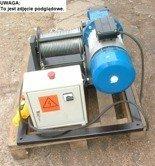 Treton 28863936 Elektryczna wciągarka linowa (siła uciągu: 800/464 kg, długość liny: 400m, moc: 3kW)
