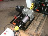 Tretos Elektryczna wciągarka linowa 150mb (siła uciągu: 190/130kg, moc: 0,75kW 400V) 28876678