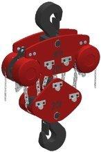 Wciągnik łańcuchowy przejezdny (wysokość podnoszenia: 5m, szerokość belki: 4, udźwig: 15 T) 22077035