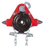Wózek jednobelkowy z napędem ręcznym - wersja przeciwwybuchowa (wysokość podnoszenia: 3m, szerokość stopy belki: 58-226mm, udźwig: 1,6 T) 22076979