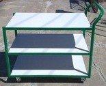 Wózek platformowy, 3 półki (wymiary: 1000x600x980 mm) 77157387