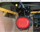 Wyciągarka elektryczna  z ręcznym wózkiem jezdnym na belce IPE200 230V (udźwig: 650 kg, wysokość podnoszenia: 15m) 28876639