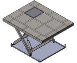 Podnośnik, podest nożycowy (udźwig: 2000 kg, wymiary platformy: 2600x1300mm, wysokość podnoszenia min/max: 300-1900 mm, moc: 2,3kW) 01876407