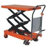 DOSTAWA GRATIS! 00546097 Wózek paletowy stołowy (udźwig: 350 kg, wymiary platformy: 910x500 mm, wysokość podnoszenia min/max: 355-1300 mm)