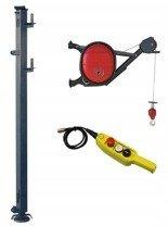 DOSTAWA GRATIS! 08172268 Wciągarka elektryczna linowa budowlana Minor Millennium 325 + Wysoki maszt (udźwig: 325 kg)