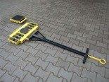 DOSTAWA GRATIS! 12235606 Wózek skrętny 12 rolkowy, rolki: 12x kompozyt (nośność: 16 T)