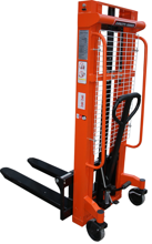 DOSTAWA GRATIS! 13362108 Wózek podnośnikowy masztowy z regulowanym rozstawem wideł (udźwig: 1000 kg, wysokość podnoszenia: 90-2500mm)