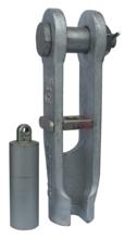 DOSTAWA GRATIS! 33948530 Złącze klinowe zakuwane SCS 40 (udźwig: 8 T, średnica liny: 16-19 mm)