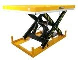 DOSTAWA GRATIS! 44366758 Elektryczny stół warsztatowy podnośny nożycowy (udźwig: 4000kg, wymiary platformy: 1700x1200 mm, wysokość podnoszenia min/max: 240-1050 mm)