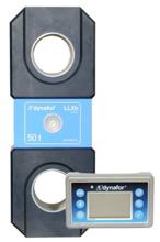 DOSTAWA GRATIS! 44929997 Precyzyjny dynamometr z wyświetlaczem do pomiaru sił rozciągających oraz ciężaru zawieszonych ładunków Tractel® Dynafor™ LLXH (udźwig: 100 T)