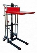 DOSTAWA GRATIS! 62666870 Wózek masztowy ręczny z platformą (udźwig: 400kg, wysokość podnoszenia: 1500mm)
