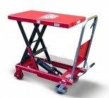 DOSTAWA GRATIS! 62666891 Wózek platformowy nożycowy (udźwig: 500 kg, wymiary platformy: 855x500 mm, wysokość podnoszenia min/max: 340-915 mm)