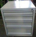 DOSTAWA GRATIS! 77156999 Szafka do stołu warsztatowego, 4 szuflady (wymiary: 665x580x600 mm)