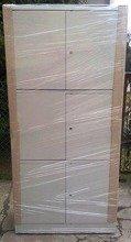 DOSTAWA GRATIS! 77157102 Szafa biurowa, 3 poziomy (wymiary: 2000x970x460 mm)