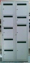 DOSTAWA GRATIS! 77157205 Szafa narzędziowa, 9 drzwi z dziurami (wymiary: 2000x800x400 mm)