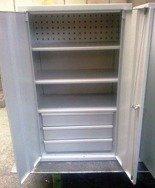 DOSTAWA GRATIS! 77157238 Szafa narzędziowa, 2 szuflady, 3 półki (wymiary: 1250x600x400 mm)