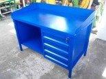 DOSTAWA GRATIS! 77170672 Stół ślusarski, 4 szuflady (wymiary: 1500x750x900 mm)