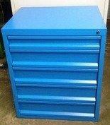 DOSTAWA GRATIS! 77170813 Szafa narzędziowa, 5 szuflad (wymiary: 850x700x600 mm)