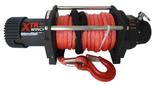 DOSTAWA GRATIS! 81874132 Wyciągarka XTR 13500lbs [6130kg] SPEED z liną syntetyczną czerwoną 24V (średnica liny: 10mm, długość liny: 28m)