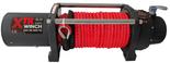 DOSTAWA GRATIS! 81874271 Wyciągarka XTR 8000 lbs [3629 kg] z liną syntetyczną w oplocie z dużym hakiem 24V (średnica liny: 11mm, długość liny: 25m)