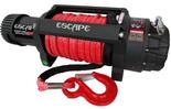 DOSTAWA GRATIS! 81874465 Wyciągarka Escape EVO 12500 lbs [5670 kg] IP68 z liną syntetyczną czerwoną 12V (średnica liny: 10mm, długość liny: 25m)